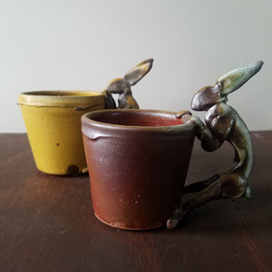 Ceramic Troy Bungart | Rabbit Mug Set