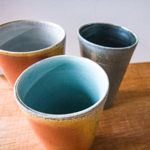 Ceramic Steven Kin | Soda Fired Luster Cups