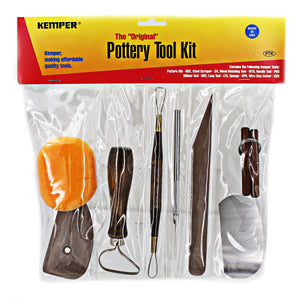 Ceramic Kemper Pottery Tool Kit - 8 Piece