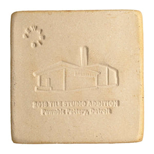 Ceramic 2018 Tile Studio Addition Commemorative Tile