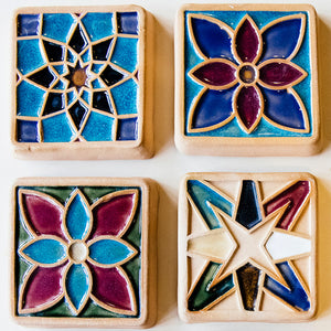 Ceramic Tile Glazing Workshop |  4/23 at 5 PM