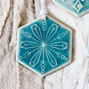 Ceramic 2018 Snowflake - Flurry