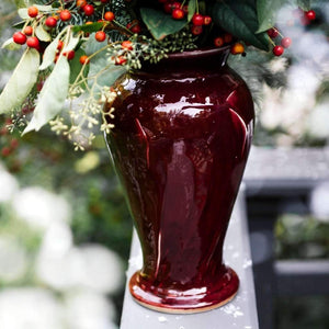 Ceramic Large Classic Winterberry Vase