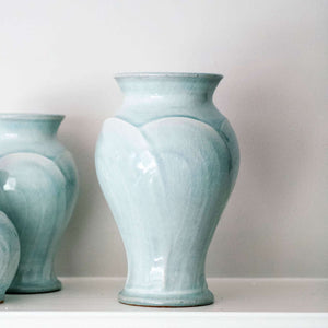 Ceramic Medium Frost Classic Vase