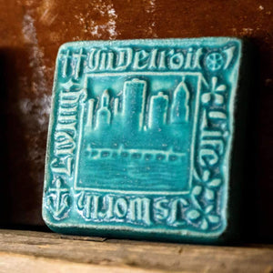 Ceramic Old Detroit Tile