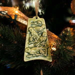 Ceramic Four Calling Birds Ornament