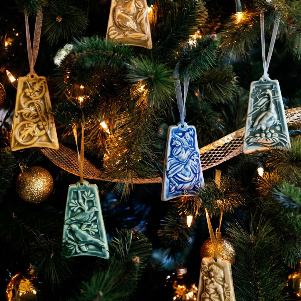 12 Days Of Christmas Ornament Set