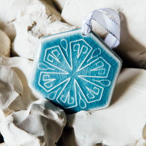 Ceramic 2020 Snowflake - Colonnade