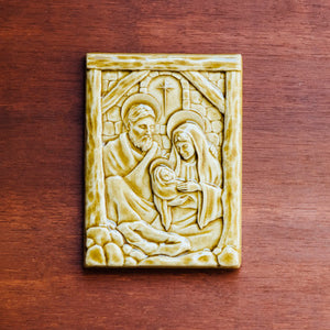 Ceramic Nativity Tile