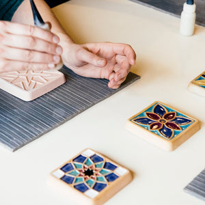 Ceramic Tile Glazing Workshop | 5/1 at 1 PM