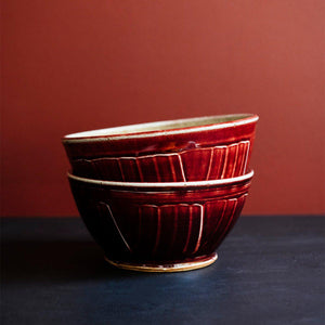 Ceramic Small Classic Bowl, Winterberry