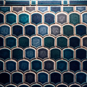 Fishscale Backsplash