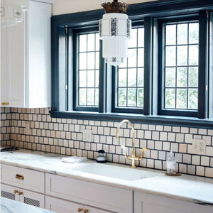 Ceramic The Wright Backsplash