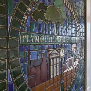 Plymouth District Library Mural