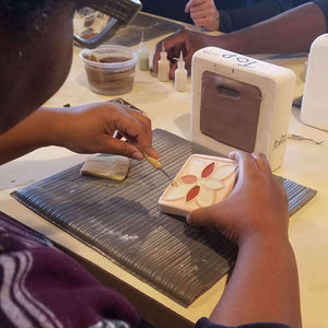 Ceramic Friday Night Out Tile Pressing | October 25th