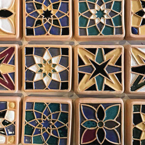 Ceramic Tile Glazing Workshop | 7/17 at 1 PM