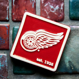 Ceramic Red Wings Tile