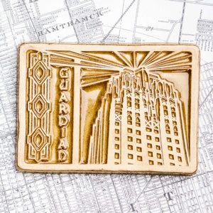 Ceramic Guardian Building Tile, Two-Tone