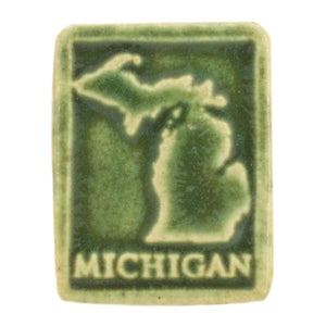 Ceramic Michigan Magnet