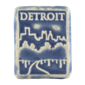 Ceramic Detroit Magnet