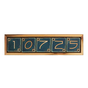 Ceramic 5 Digit Address Frame | Mutual Adoration