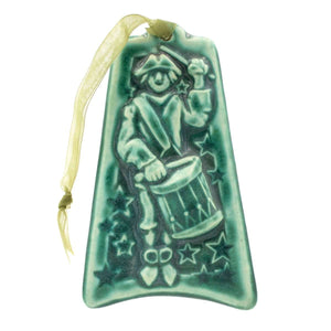 Ceramic Twelve Drummers Drumming Ornament