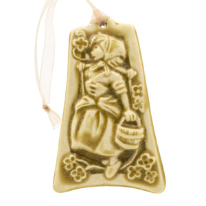 Ceramic Eight Maids a-Milking Ornament