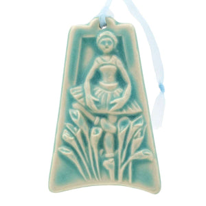 Ceramic Nine Ladies Dancing Ornament