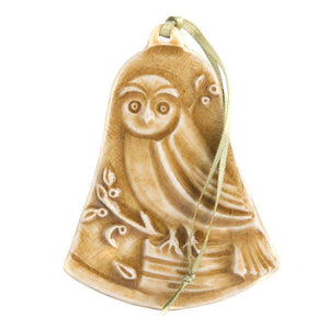 Ceramic Woodland Owl Ornament