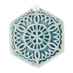 Ceramic 2019 Snowflake – Lace