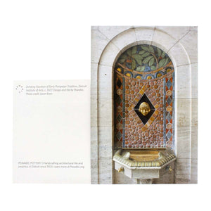 Ceramic DIA Fountain Postcard