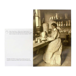 Ceramic Mary Chase Perry at the Stable Studio Postcard