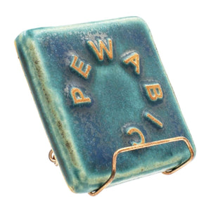 Ceramic Small Copper Tile Stand