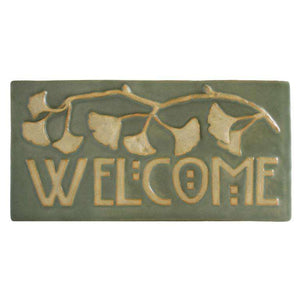 Ginkgo Welcome Tile