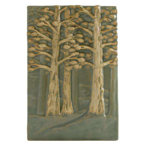 Ceramic Hillside Forest Tile