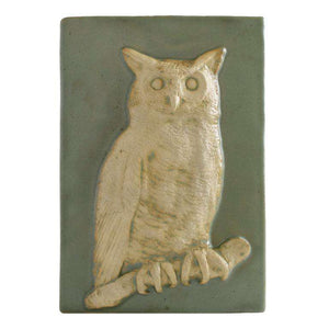 Ceramic Owl Tile