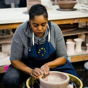 Ceramic Friday AM Wheel | Independent Study Lab - Winter 21