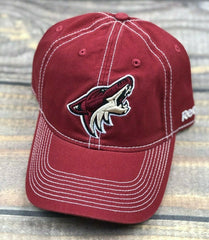 NHL Arizona Coyotes Reebok Flex Brim Adjustable Strapback Hat Cap Team Color Red