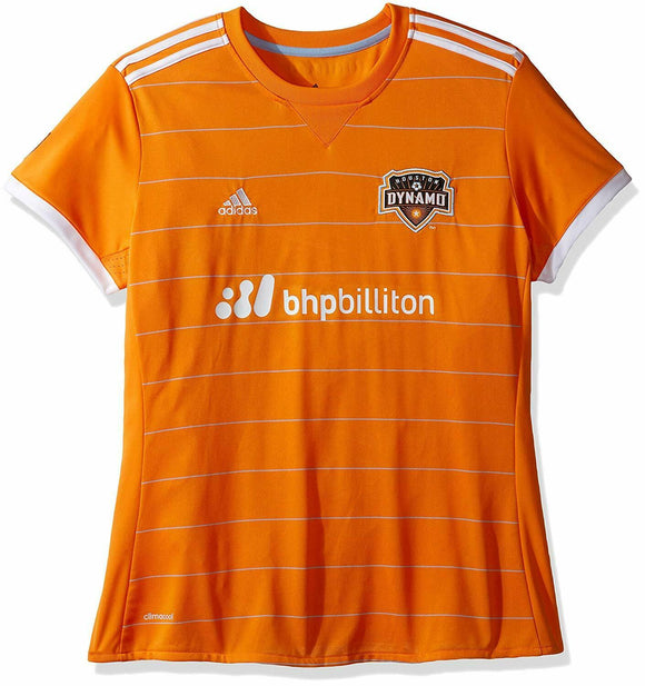 Houston Dynamo MLS Women's Adidas Climacool Soccer Jersey Size Large NWT - Vintage Buffalo Sports