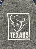 Houston Texans NFL Super-Soft Lightweight 3 Button Pullover Hoodie Men's S - Vintage Buffalo Sports