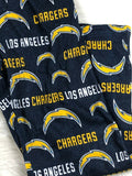 Los Angeles Chargers NFL Navy & Gold All Over Print Cozy Lounge Pants, Women S - Vintage Buffalo Sports