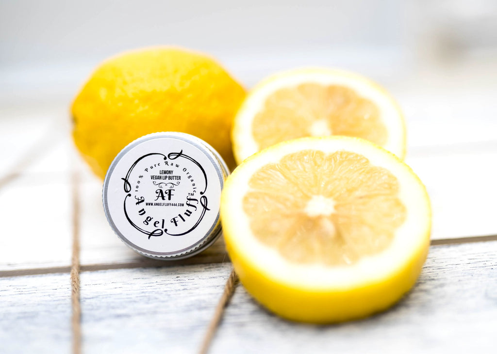 Lemony Vegan Lip Butter