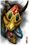 Distorted Hannya