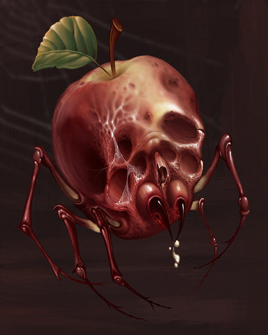 Apple Skull Spider