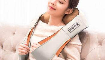 Electric Infrared Neck Roller & Shiatsu Massage