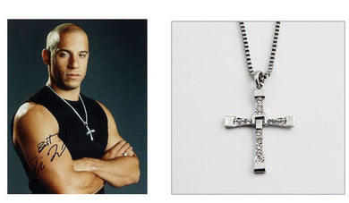 The Dominic Torettos Cross Pendant Chain Necklace