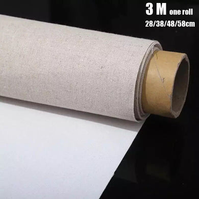 Professional blank canvas for painting- 3M One Roll