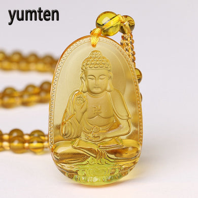 Yumten Buddah Bead Chain Necklace