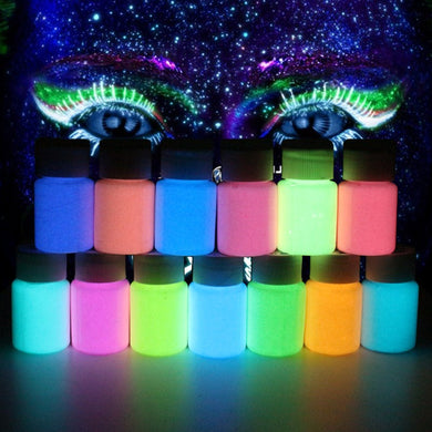 13 Colors Acrylic Paint Glow in the Dark