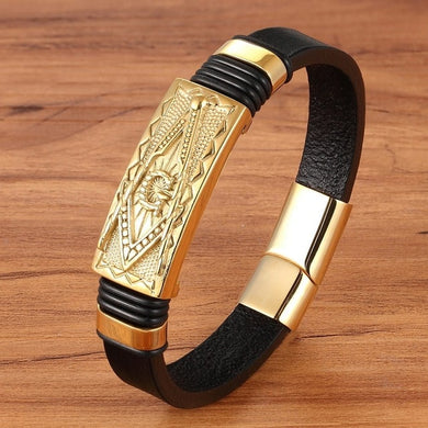 XQNI Genuine Leather Bracelet